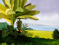 Painting by Curtis Wilson Cost: Banana Sunday