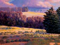 Painting by Curtis Wilson Cost: Evening Blush
