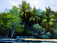Painting by Curtis Wilson Cost: Kula Papakea
