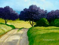Painting by Curtis Wilson Cost: Lavender Passage