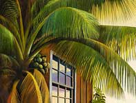 Painting by Curtis Wilson Cost: Plantation Palm