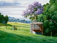 Painting by Curtis Wilson Cost: Upcountry Maui