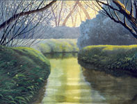 Painting by Curtis Wilson Cost: Waterway
